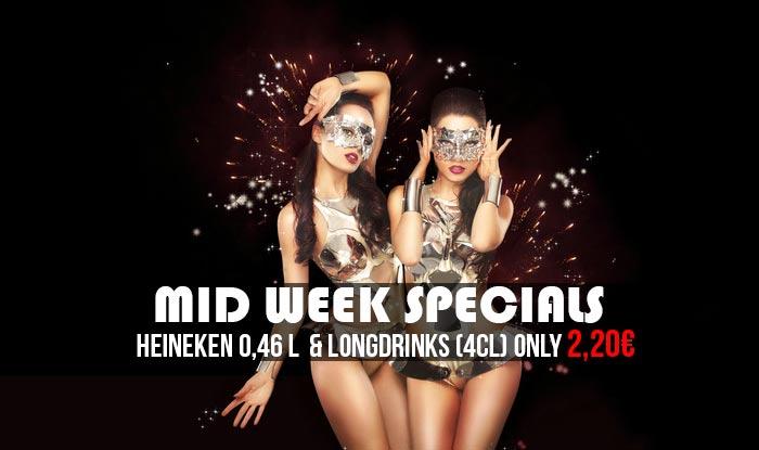 Mid Week Specials 2015